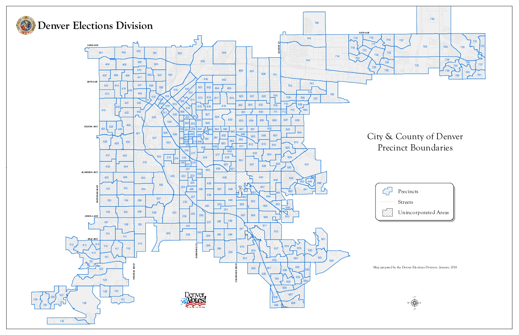 Maps | Democratic Party of Denver